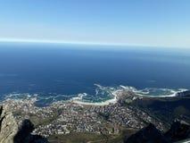 Cape Town SA de Seapoint imagen de archivo