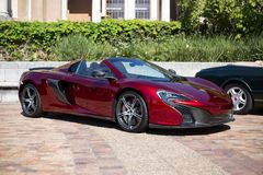 McLAren Sports Car convertible royalty free stock photography