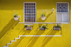 Cape Town, South Africa - Brightly painted house in Bo Kaap, Cap Royalty Free Stock Images
