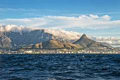 Cape Town, South Africa. View of Cape Town, South Africa royalty free stock image