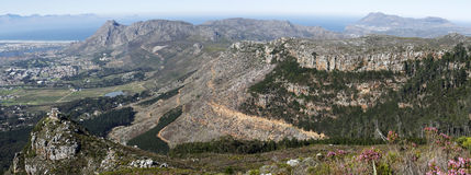 Cape Town southern suburbs Stock Photo