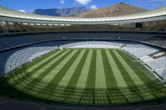 Cape town stadium. Interior of cape town stadium Royalty Free Stock Photos