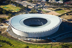 Cape Town Stadium Aerial stock photo
