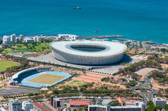 Cape Town Stadium at Green Point in Cape Town, South Africa Stock Photos