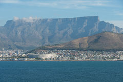 Cape town Stadium,Table Mountain,Cape Town, South Africa,Africa Royalty Free Stock Photography