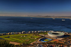 Cape Town Stadium. Western Cape, South Africa royalty free stock image