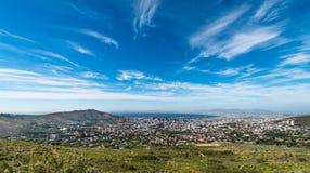 Cape Town stadsmitt royaltyfria foton