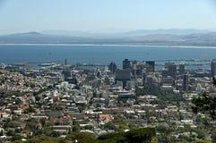 Cape Town - Stadt- und Hafenbereich Stockfotografie