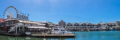 Cape Town strand 1 Oktober 2017 royaltyfria bilder