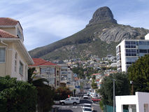 Cape Town Streetscape Stock Images