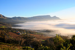 Cape Town Suburbs Royalty Free Stock Photography