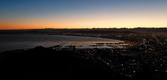 Cape Town at sunrise Stock Photo
