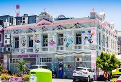CAPE TOWN SYDAFRIKA - DECEMBER 20, 2016: Fotoet av bagerit för Charly ` s i Cape Town, vet också som änglar för kaka för Charly ` Royaltyfri Fotografi