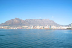 Cape Town with table mountain Royalty Free Stock Photos