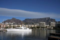 Cape Town table mountain Stock Photo
