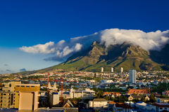 Cape Town, Table Mountain royalty free stock photo