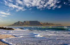 Cape Town table mountain Stock Images