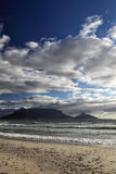 Cape Town and Table Mountain Royalty Free Stock Photo