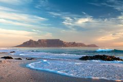 Cape Town table mountain south africa Royalty Free Stock Photo