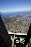 Cape Town, Table mountain Stock Image