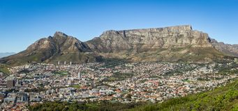 Cape Town and the Table Mountain Stock Images