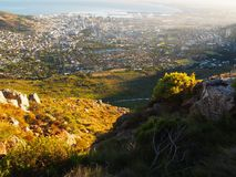 Cape Town from Table Mountain Stock Photography