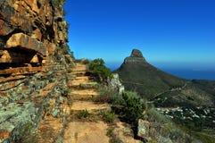 Cape Town-Tafelberg-Ansicht Stockbilder