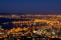 Cape Town view #1 Stock Photography