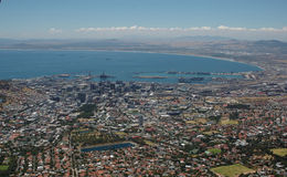 Cape Town view stock photography