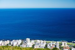 Cape Town View from Signal Hill Stock Photos