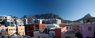 Cape Town View of Table Mountain Royalty Free Stock Image