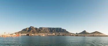 Cape Town & x28; vista dal seaside& x29; fotografia stock libera da diritti