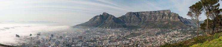 Cape Town vroeg in de ochtend stock foto