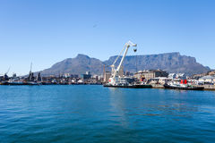 Cape town waterfront Stock Image