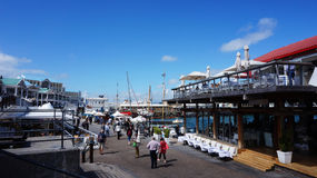 Cape Town waterfront and habour Royalty Free Stock Images