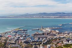 Cape Town Waterfront stock photography