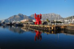Cape Town Waterfront Royalty Free Stock Photography