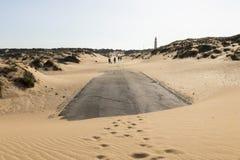 Cape Trafalgar, Spain stock photo