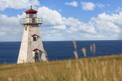 Cape Tryon Lighthouse Royalty Free Stock Photos