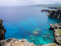 Cape Umahana in Yonaguni Island. Western border island of Japan. It's a part of Okinawa Royalty Free Stock Photos