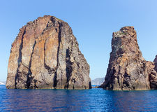 Cape Vani, Milos island, Cyclades, Greece Royalty Free Stock Photos