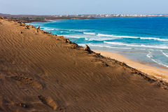 Cape Verde beach Royalty Free Stock Photography