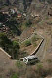 Cape Verde mountain village Stock Photography