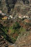 Cape Verde mountain village Stock Image