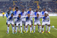 Cape Verde National Soccer team Royalty Free Stock Image