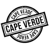 Cape Verde rubber stamp Stock Images