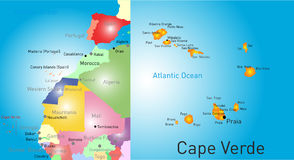 Cape Verde Royalty Free Stock Photography