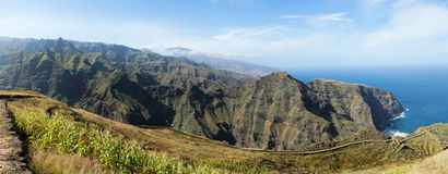 Cape Verde viewpoint Royalty Free Stock Photography