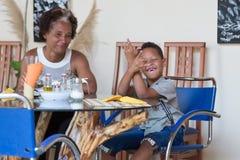 Cape Verdean children Stock Photo