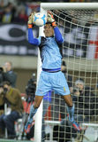 Cape Verdean goalkeeper Vozinha Stock Images